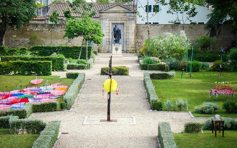 Jardin du Musée Ernest Cognacq